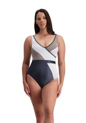 Moontide Beach Luxe Faux Wrap Suit