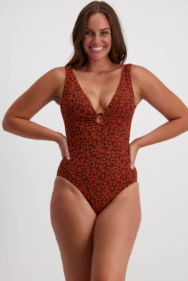 Moontide Galapagos Ring Plunge Swimsuit