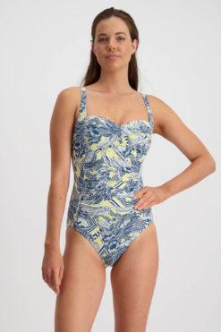 Moontide Hawaiian Totem Twist Swimsuit